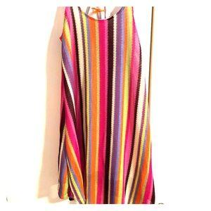 Anama striped knit sundress